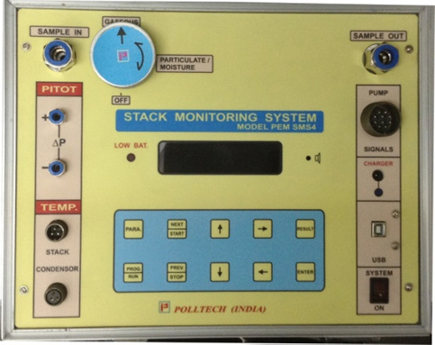 Automatic Isokinetic Stack Monitoring System Model PEM-SMS 4